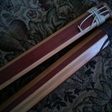 Custom Wooden Rod Cases